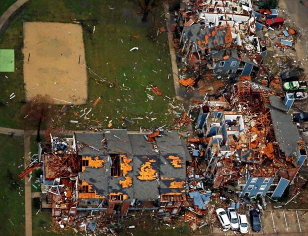 Insurance Claims from Tornadoes in Texas