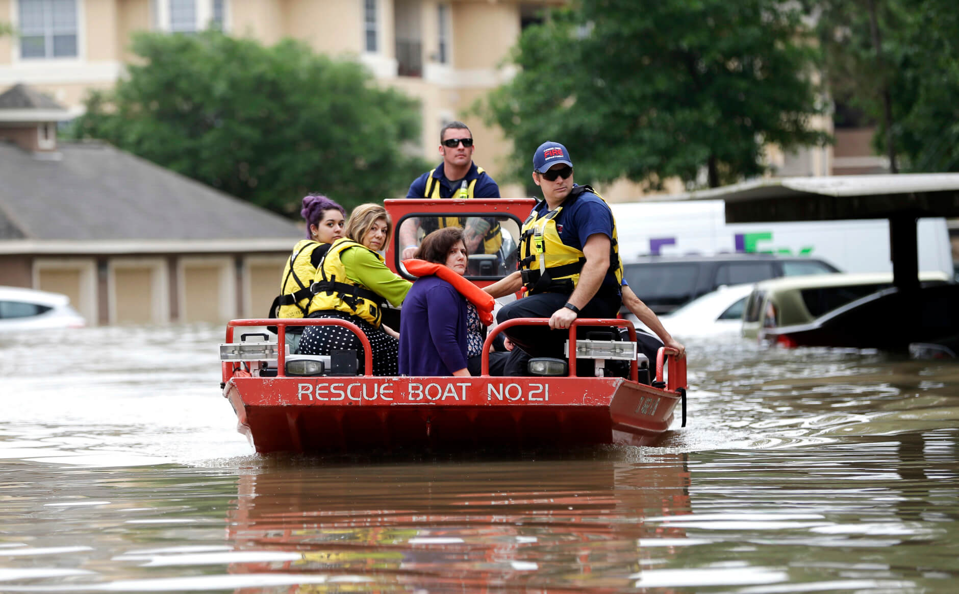 Devastating Houston Wind and Rainstorm