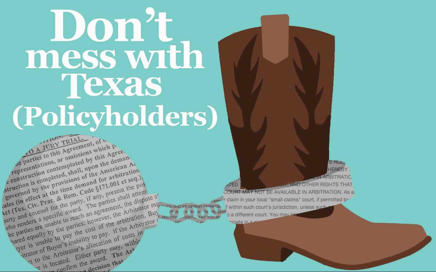 Texas Policyholders Succeed In Forced Arbitration Gambit by the Texas Insurance Industry