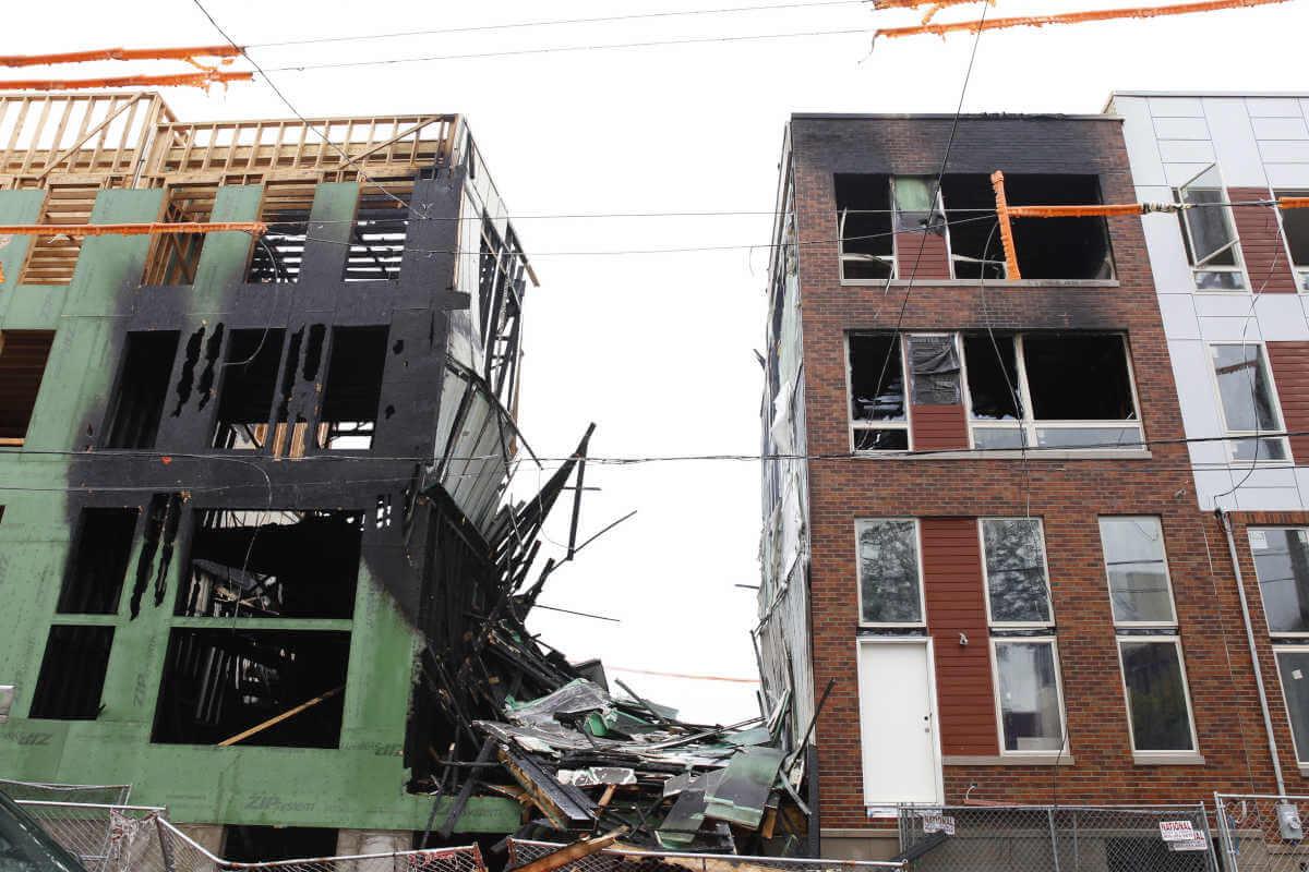 Houston Builder Files Fire Damage Insurance Claim Lawsuit