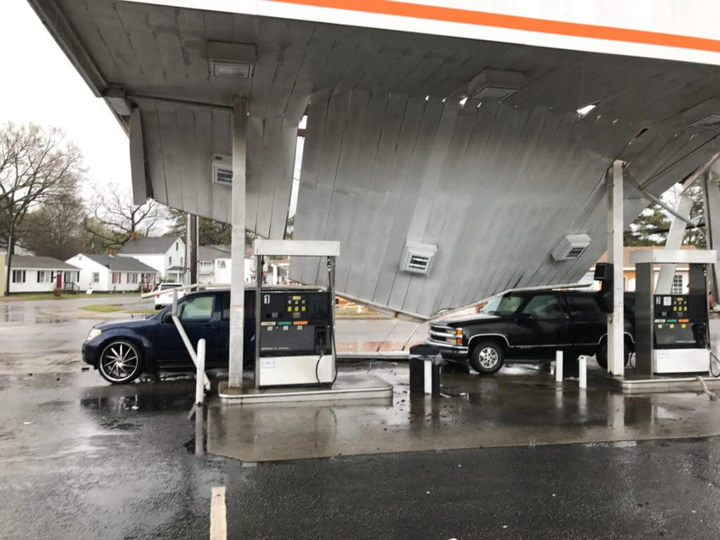 Denton County Gas Station Files Hail Damage Insurance Lawsuit