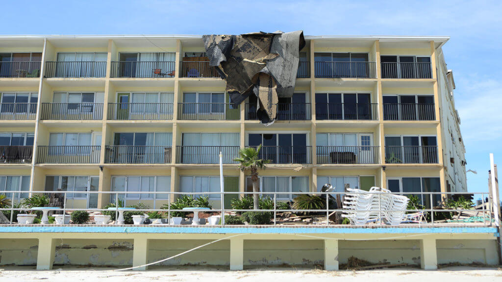 When a Hurricane Causes Hotel Property Damage