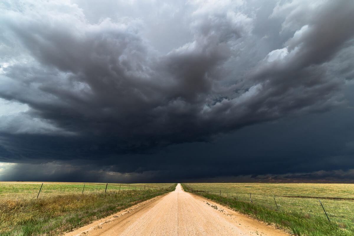 Stormiest Counties In Texas