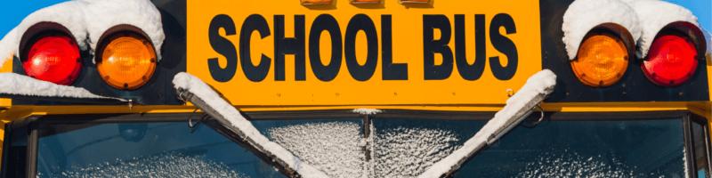 Winter Storm School Damage